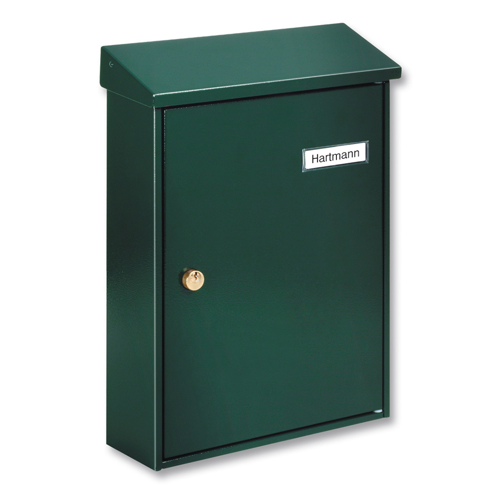 Grüner, schlichter Briefkasten Letter 5832