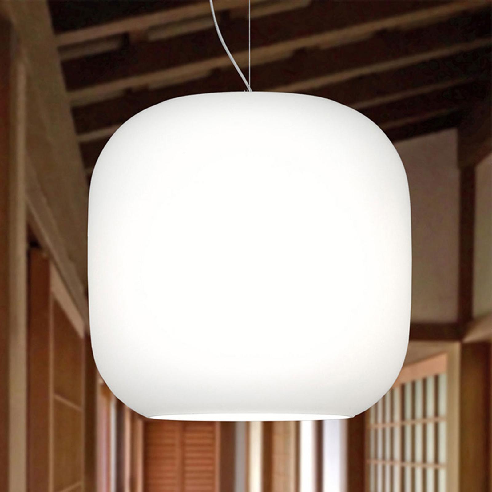 Casablanca Murea glazen hanglamp met draadhanger