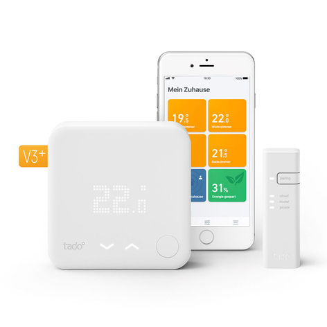 tado° Smartes Thermostat Starter Kit V3+