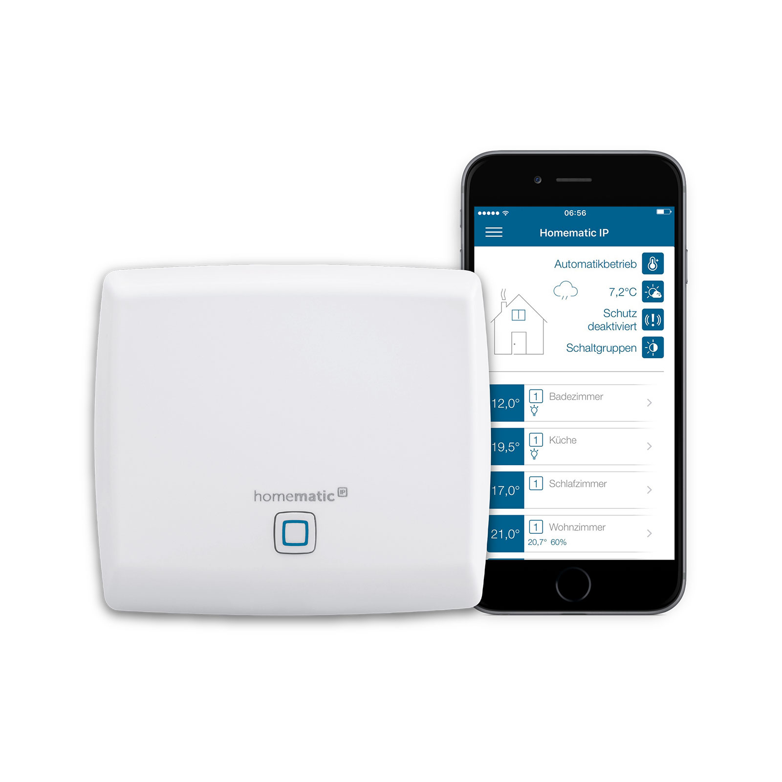 Homematic IP Access Point -ohjauskeskus, Cloud