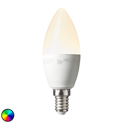 Bombilla vela LED E14 4,5W Smart-Tuya RGBW