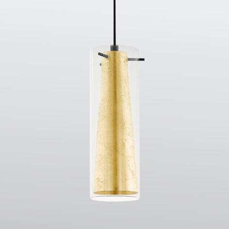Závěsné světlo Pinto zlaté 1-žárovkové