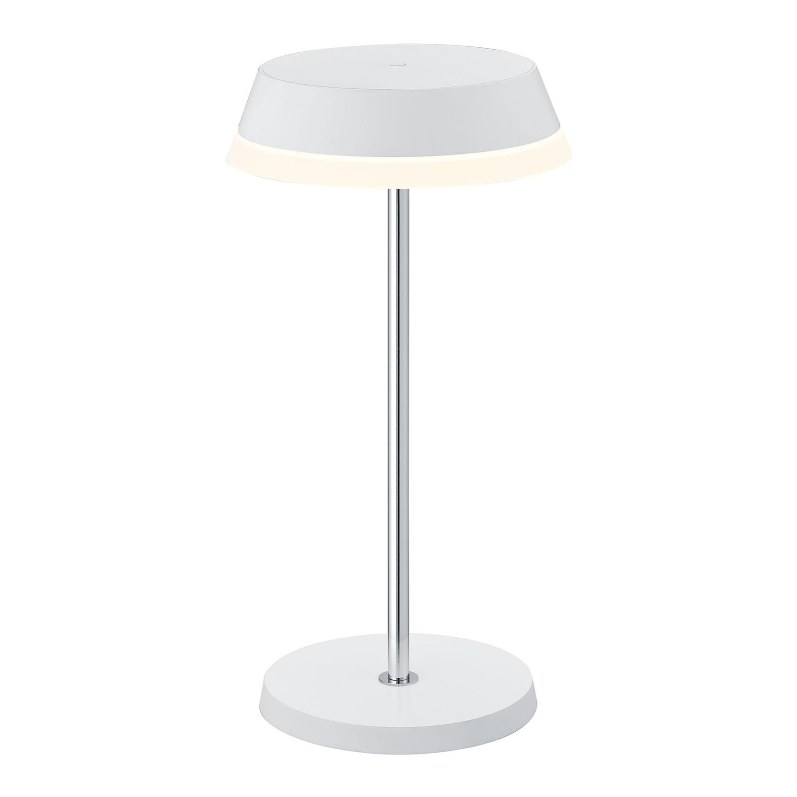 B-Leuchten Joy LED tafellamp met accu wit