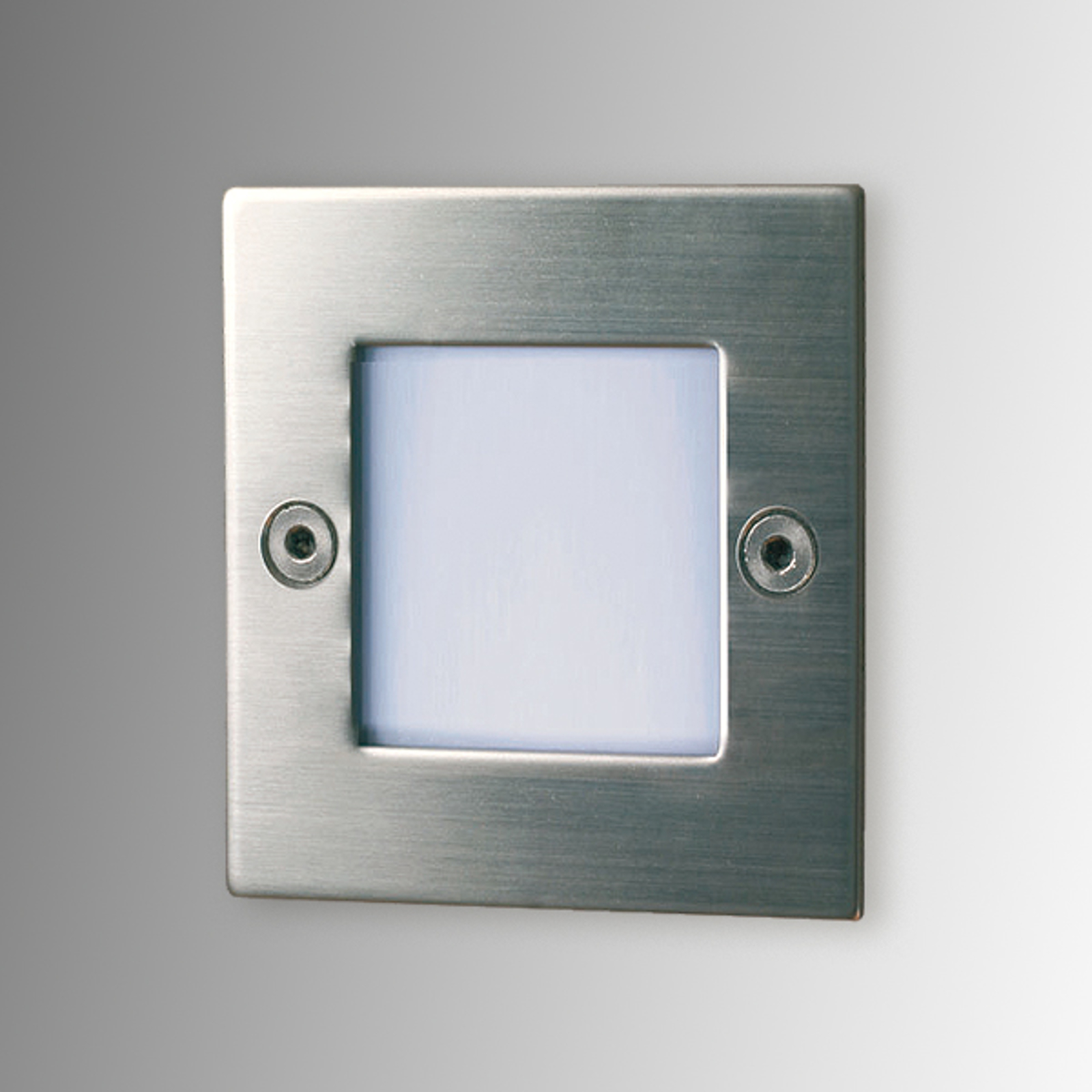 Quadratische LED-Einbauleuchte Lis