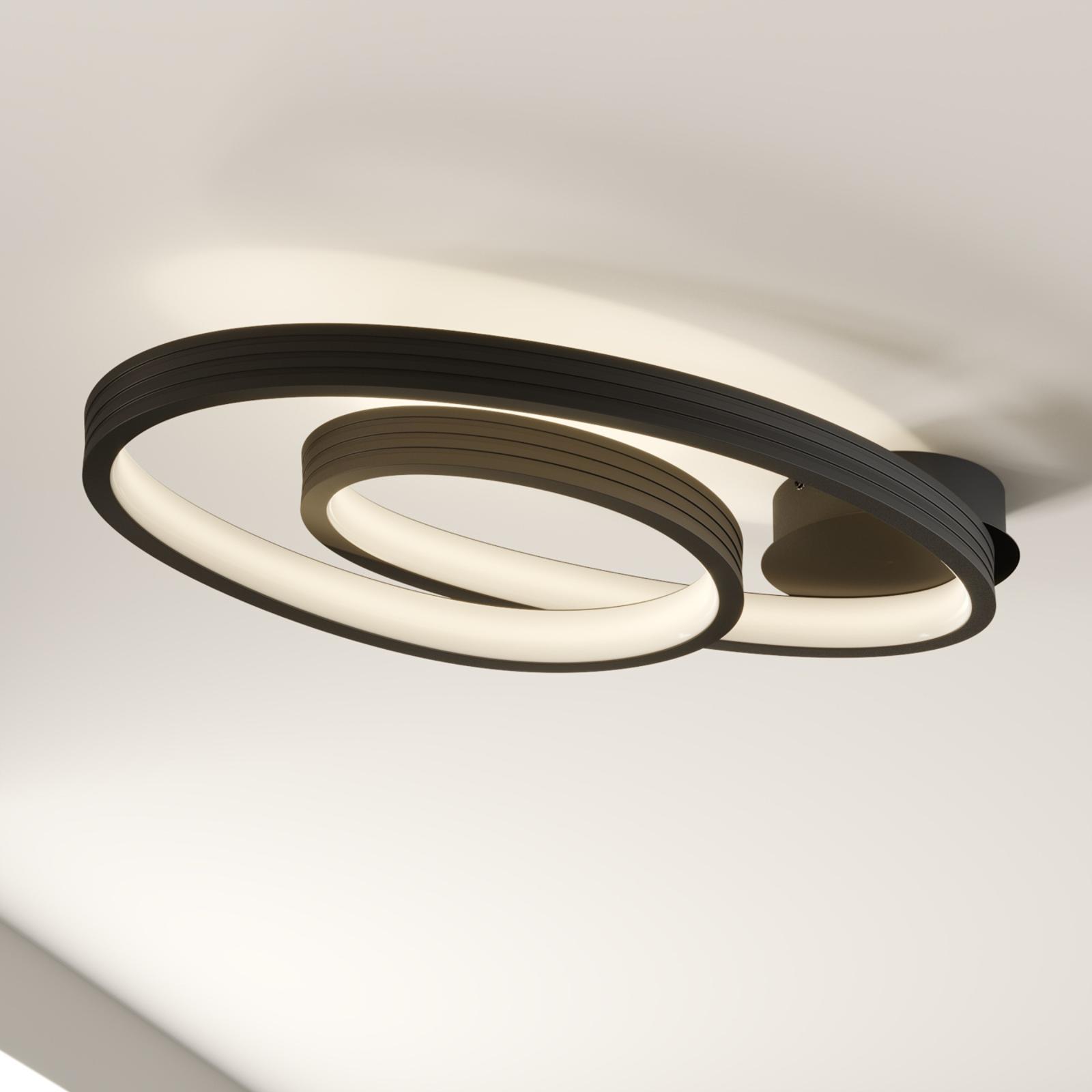 Lucande Bronwyn LED-Deckenleuchte, 72,5 cm