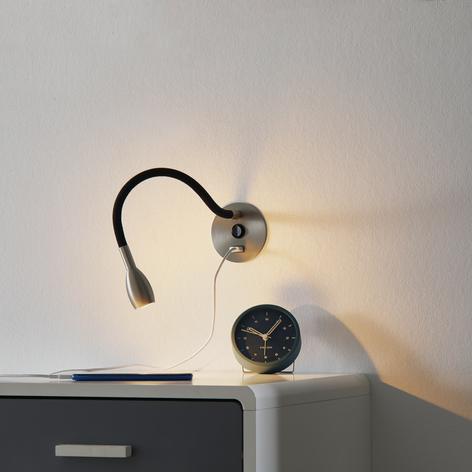 Con puerto USB: lámpara de pared LED Flexy Light
