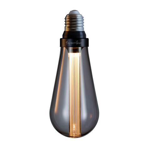 Buster + Punch LED-Lampe E27 5W dimmbar rauch