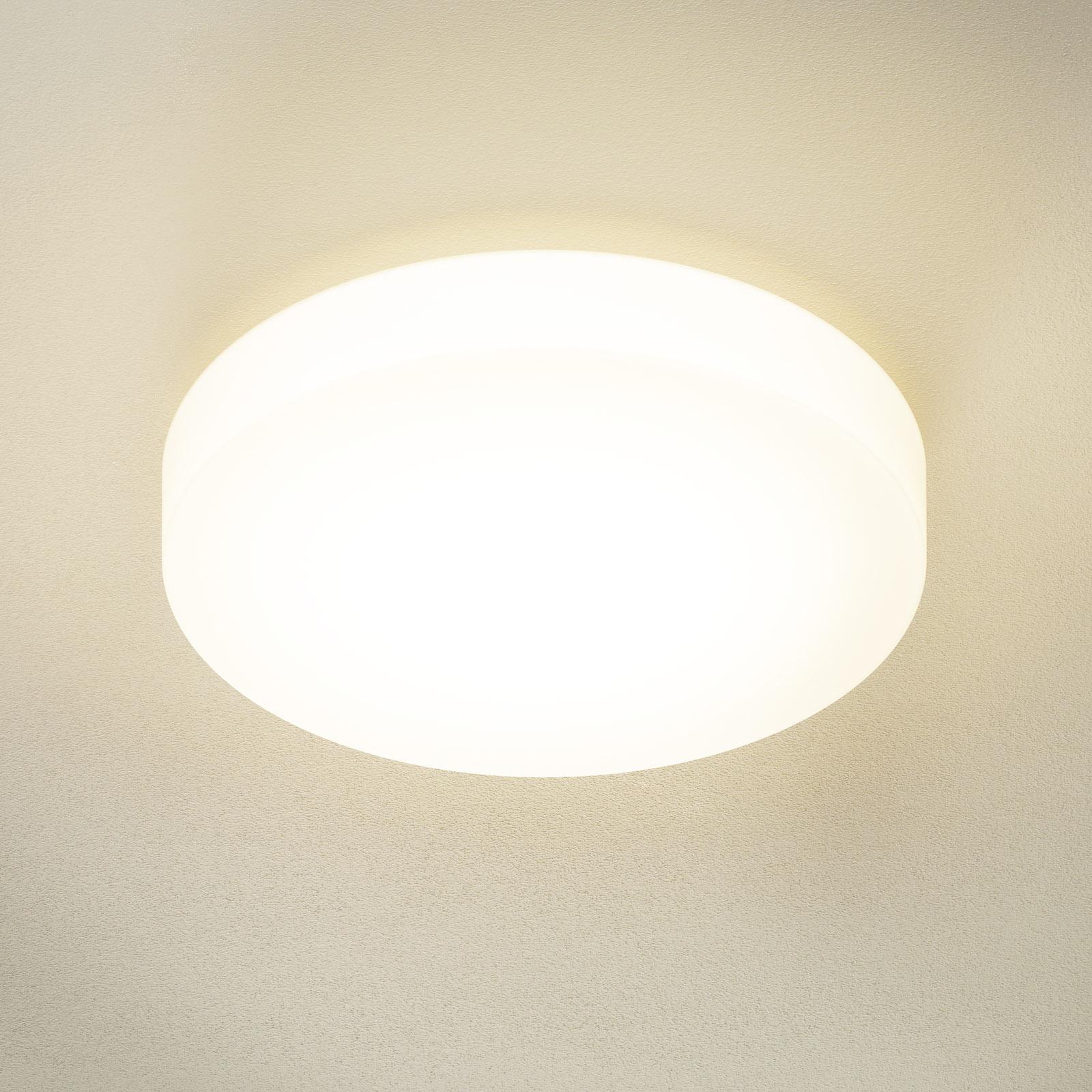 BEGA 23297 LED-kattovalaisin lasi DALI 3000K Ø47cm