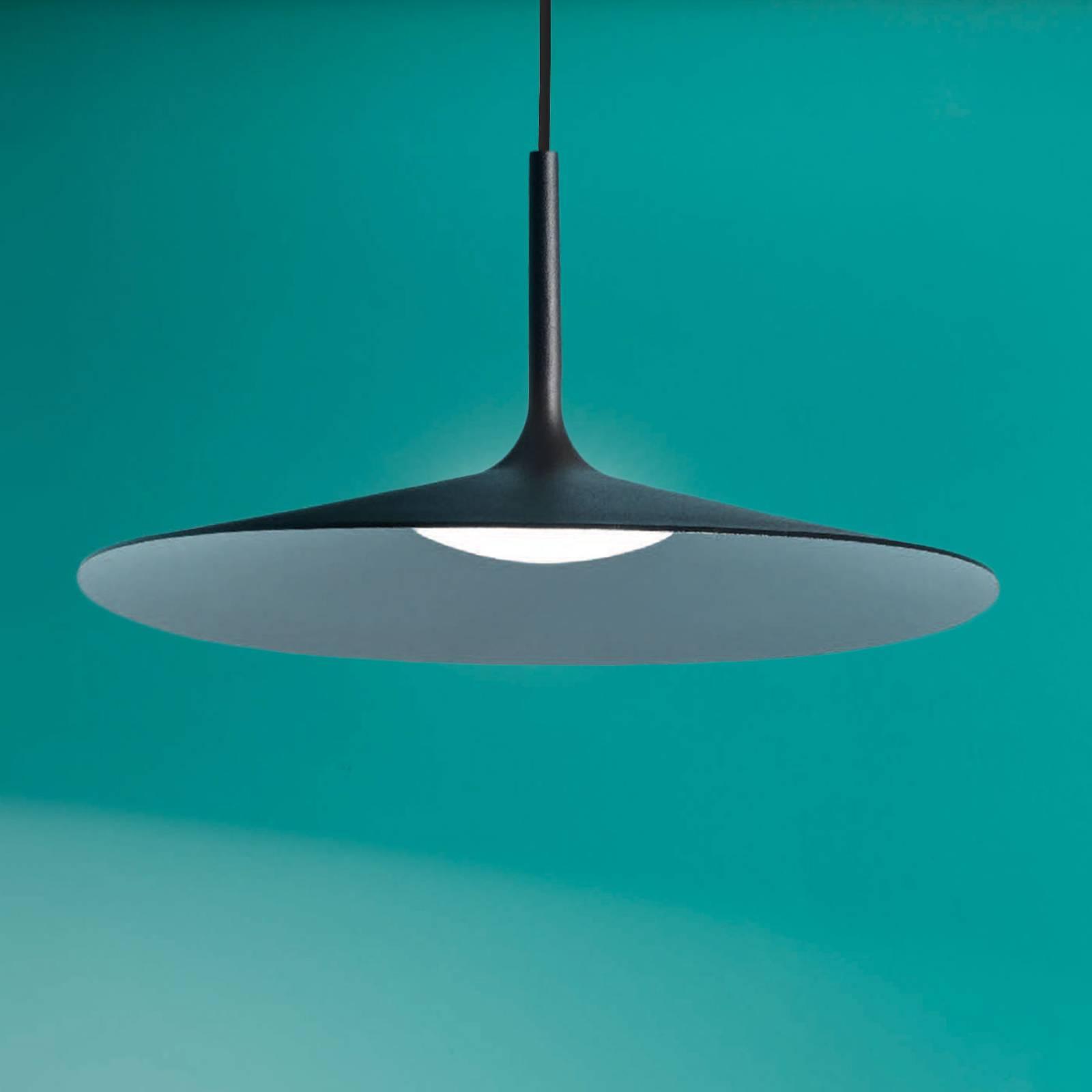 LED hanglamp Poe plus, zwart