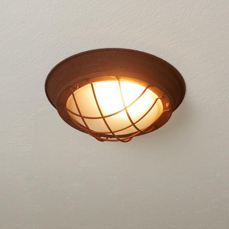 Landligt rustik loftlampe Typhoon