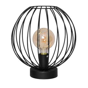 Pöytälamppu Cumera häkkivarjostimella, Ø 30 cm