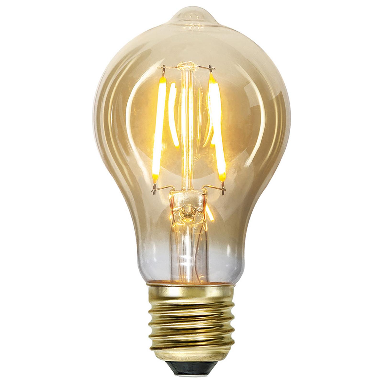 LED-Lampe E27 0,75W Vintage Gold 2.000K amber