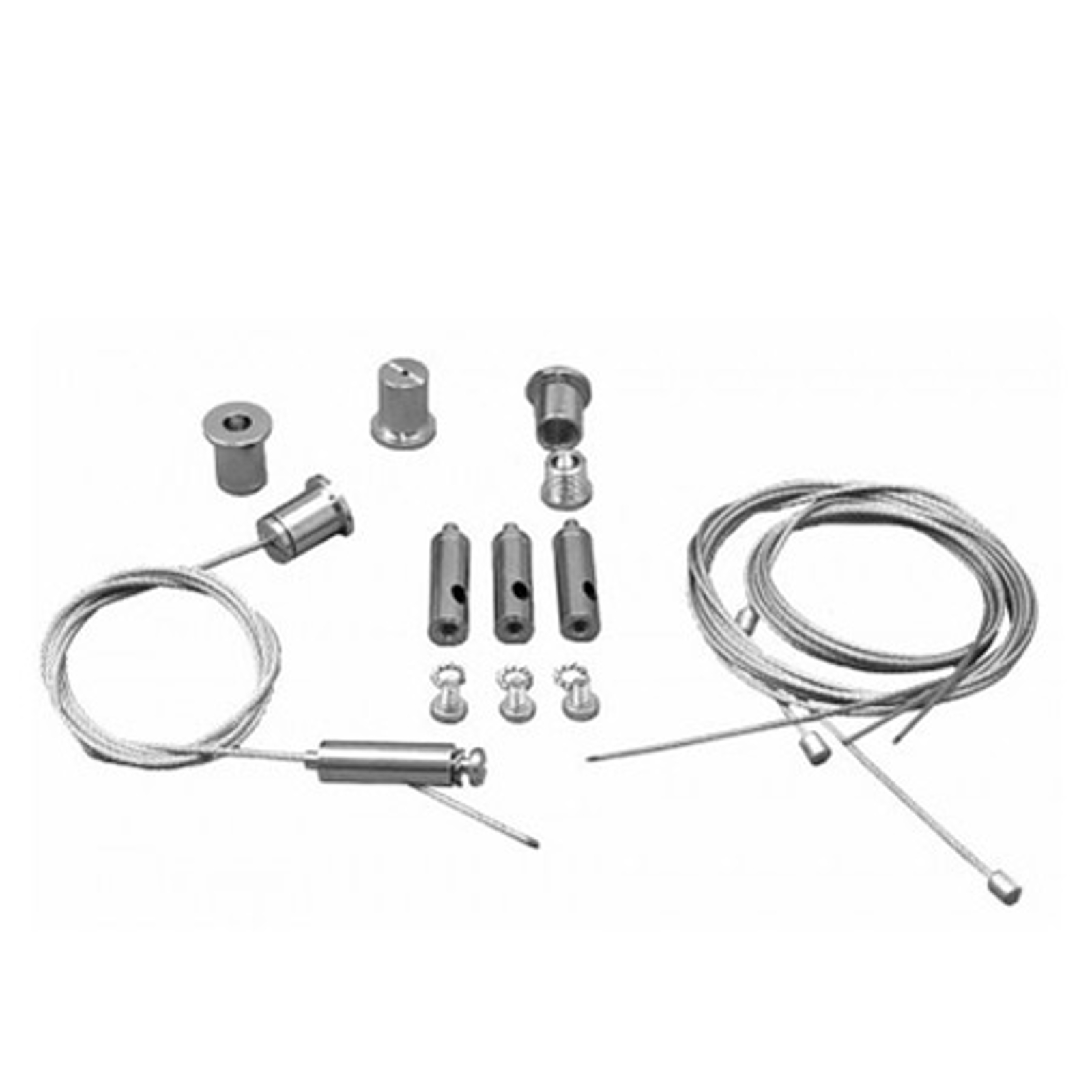 Kit sospensione 2m pannello LED All in One