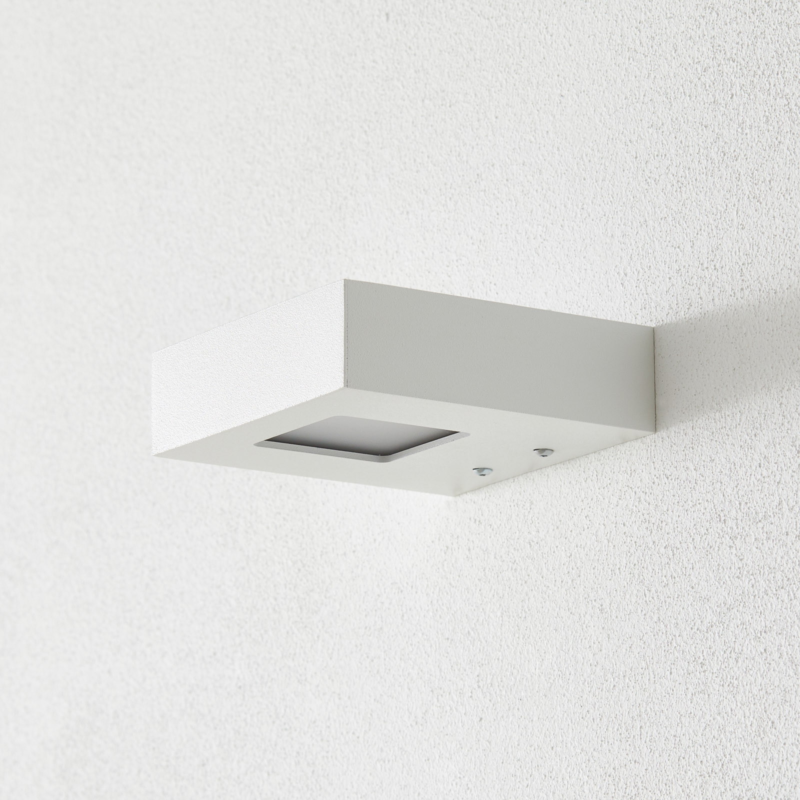 Wallwasher LED Cubus, bianco