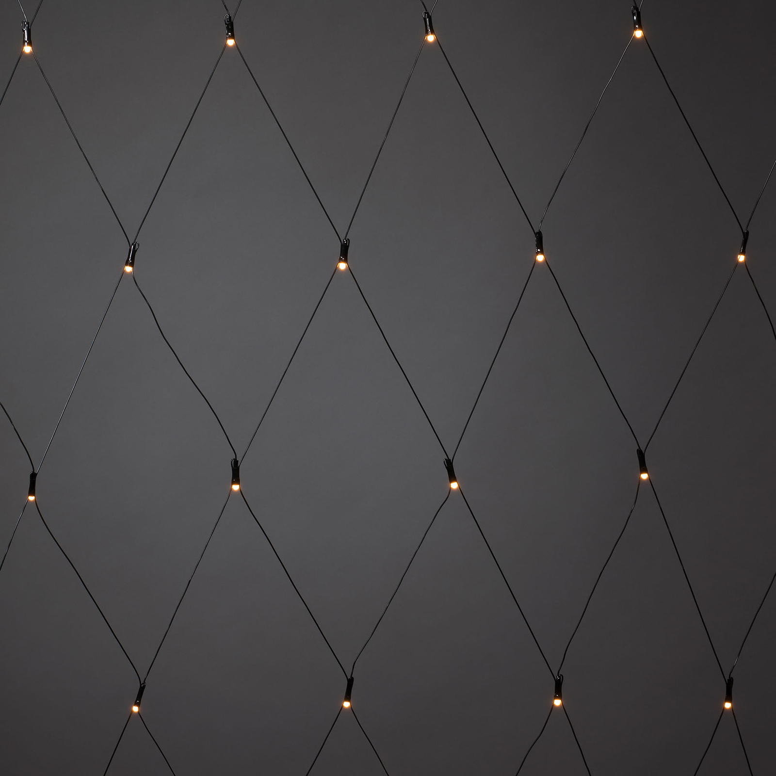 Filet LED pour l'extérieur, 32 lampes 100 x 100cm