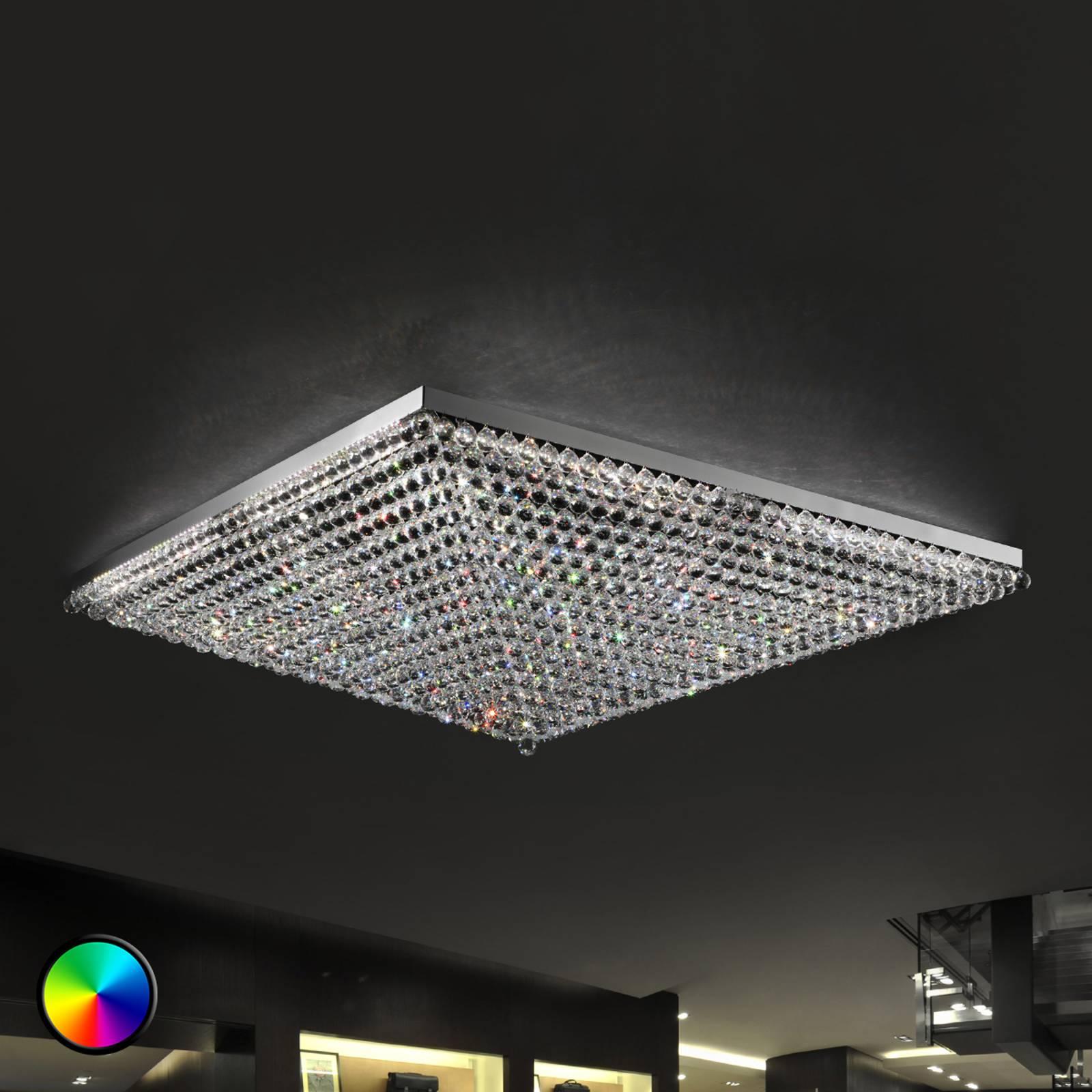 Deckenleuchte Ascana mit RGB-LED
