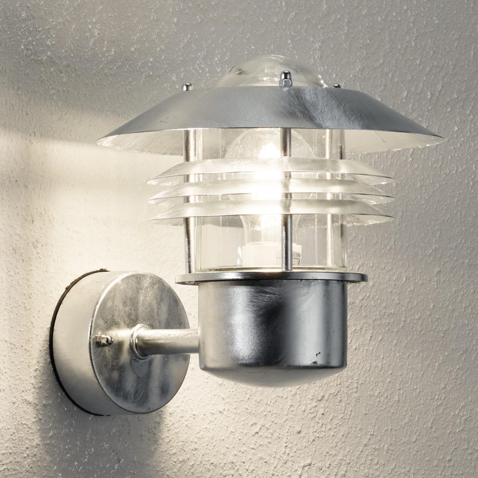 lampada da parete esterna Vejers, senza sensore