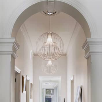 Modo Luce Icaro Ball hængelampe, hvid