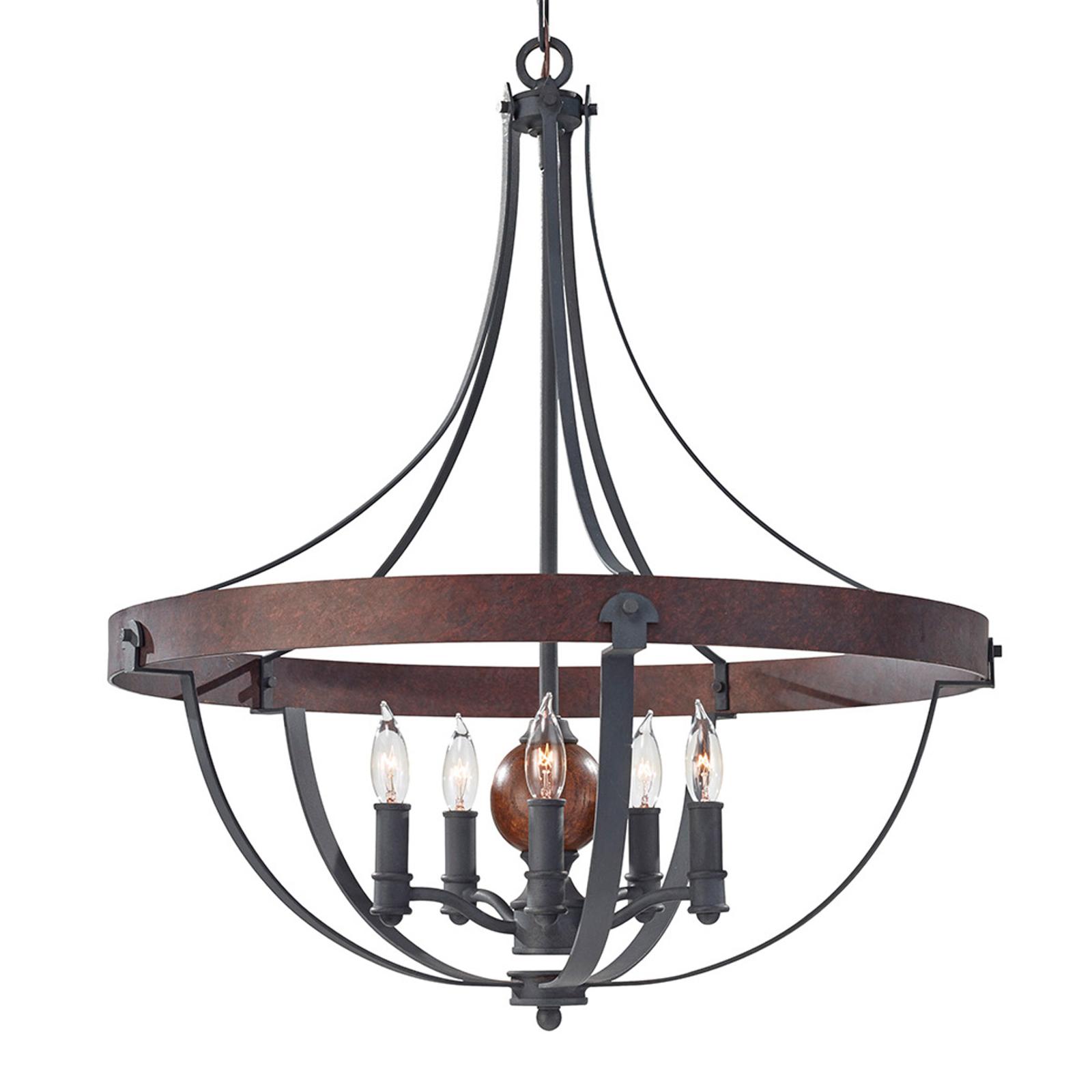 Robusto lampadario Alston