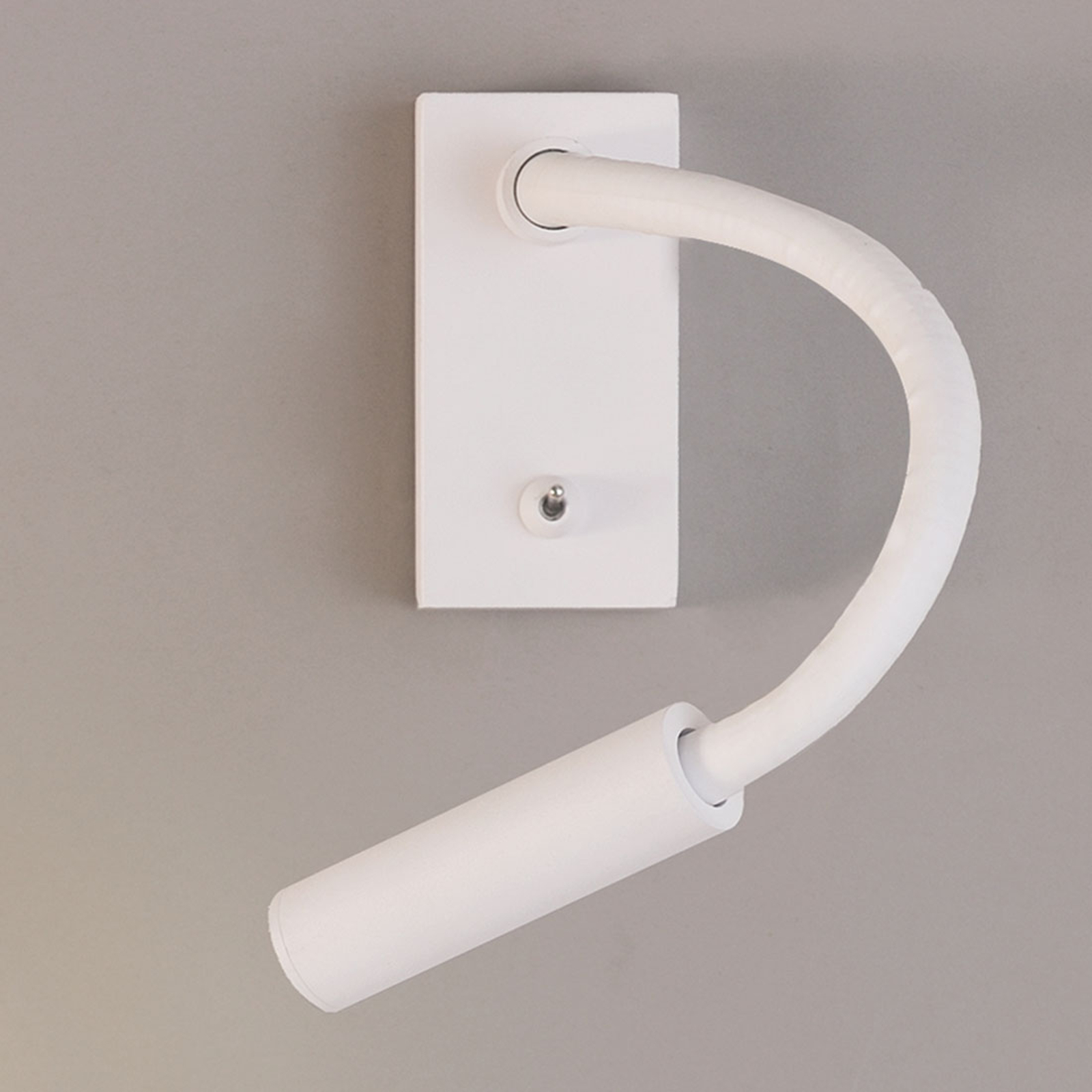 Biegsame LED-Wand-Leseleuchte Cio mit Schalter