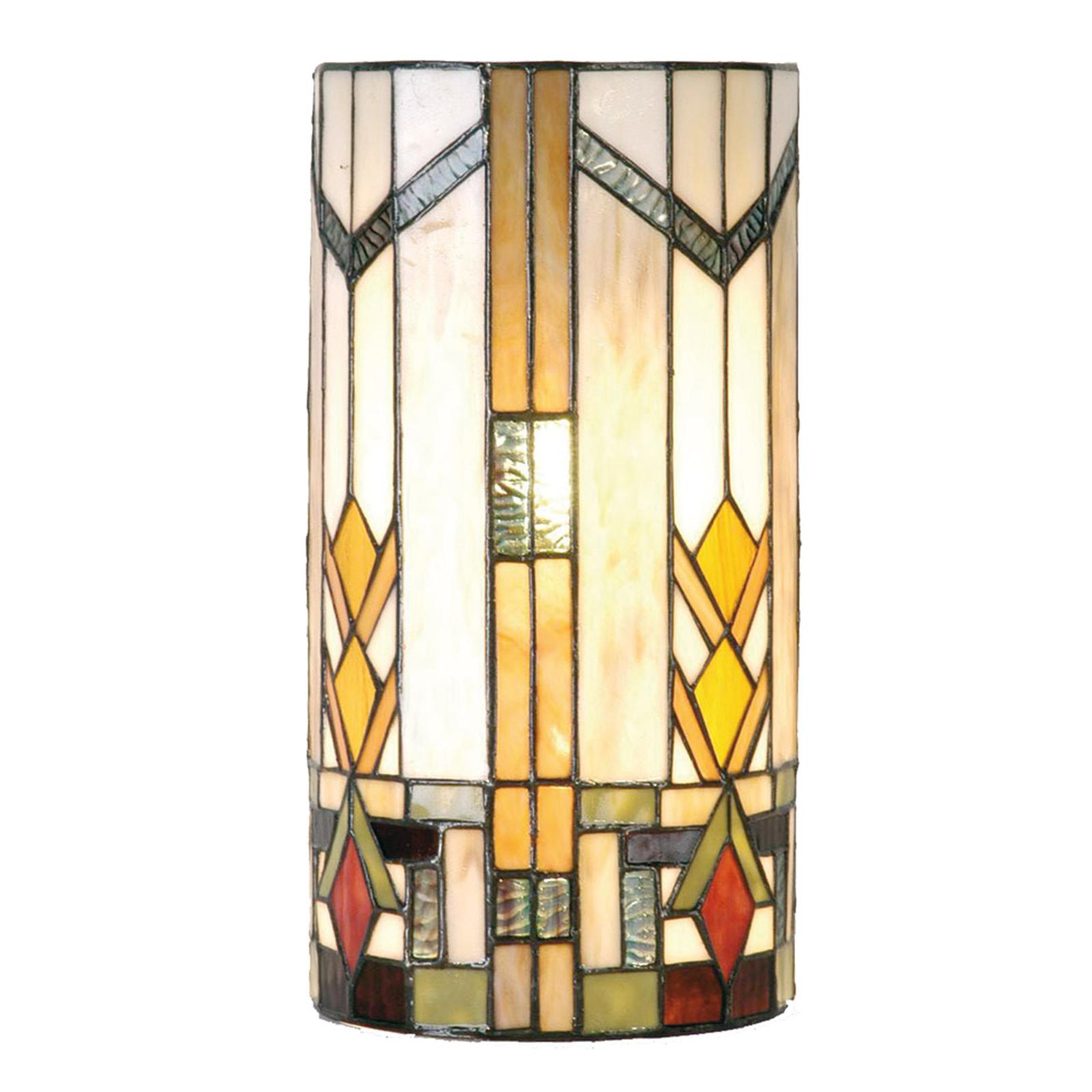 Lotta - væglampe i Tiffany-stil