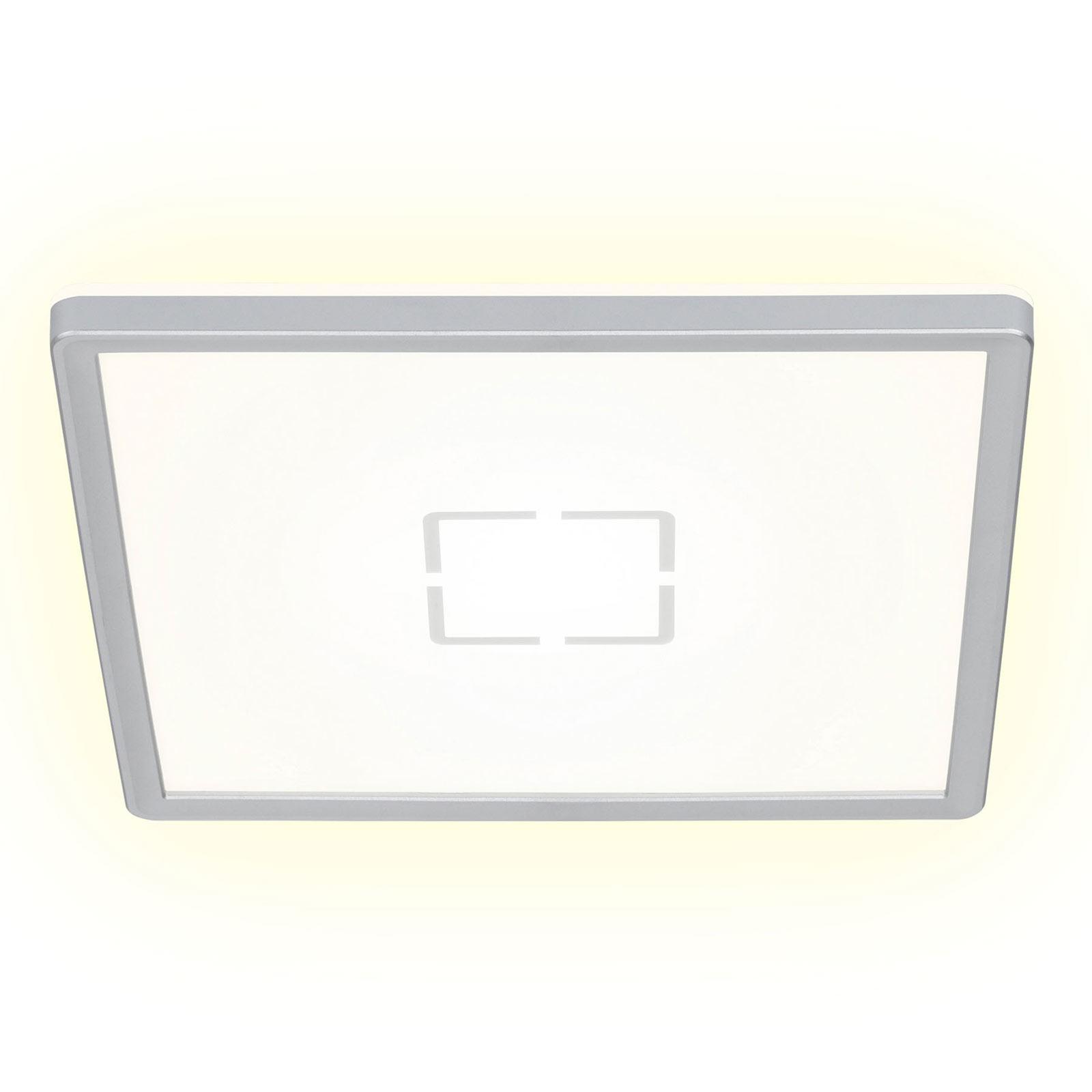 LED-Deckenlampe Free, 29 x 29 cm, silber