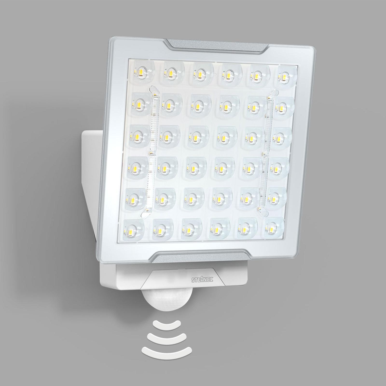 STEINEL XLED Pro Square Außenstrahler, Sensor weiß