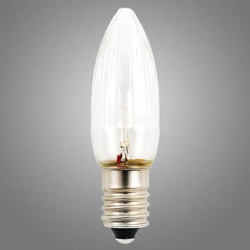 E10 24 V 0,3 W LED reservepære 3-pakning