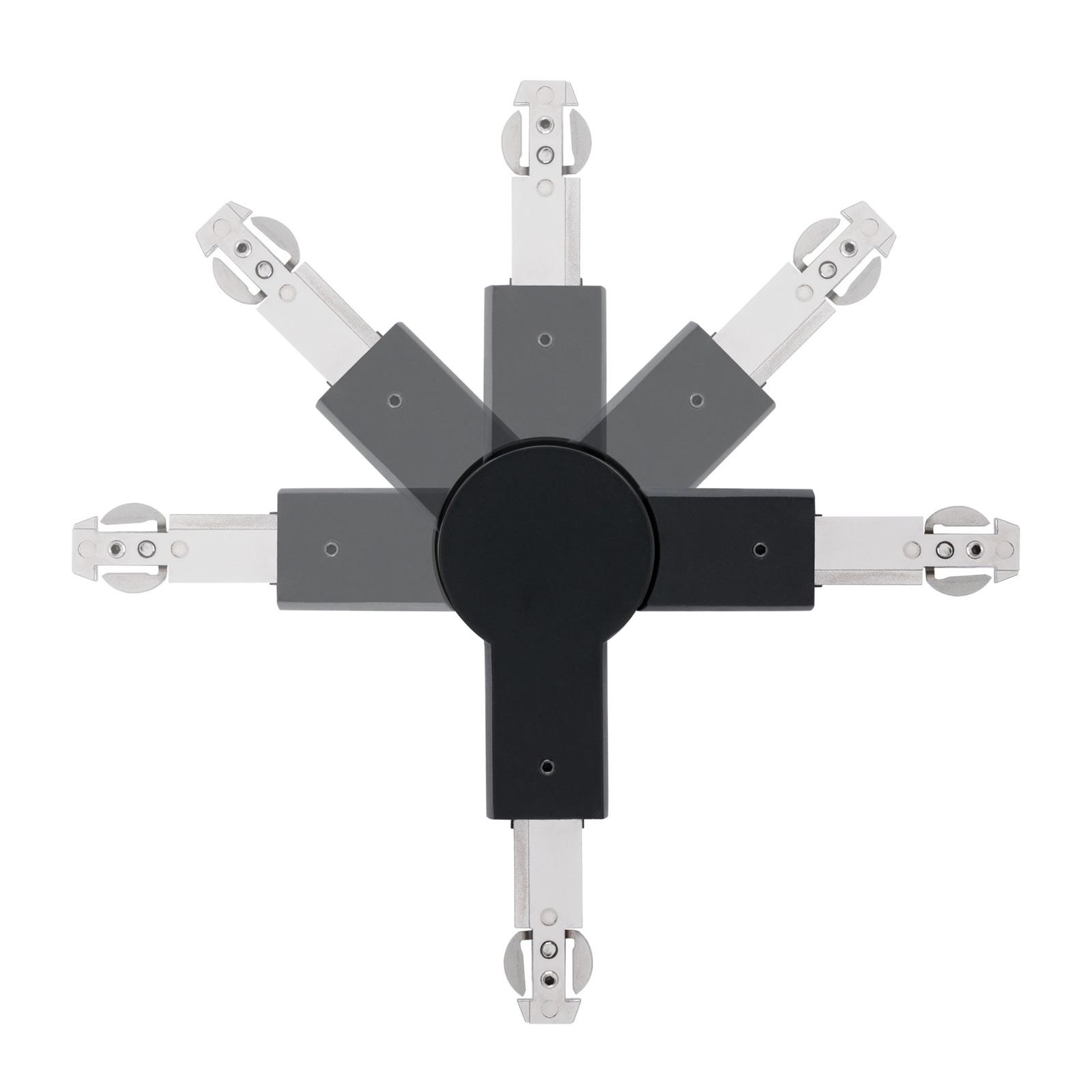Paulmann URail connecteur articulé noir mat
