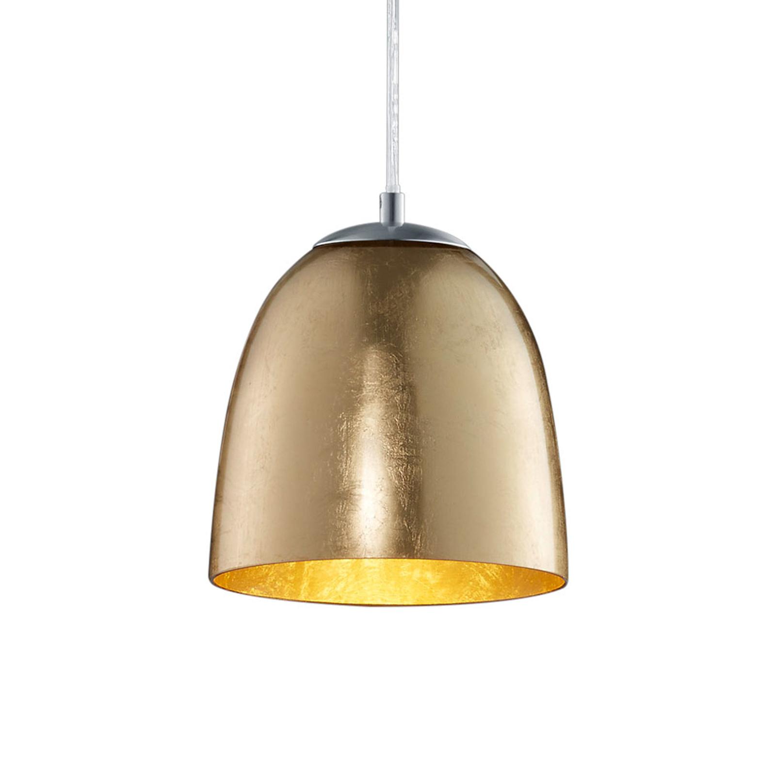 Mała lampa wisząca Ontario ze szkła