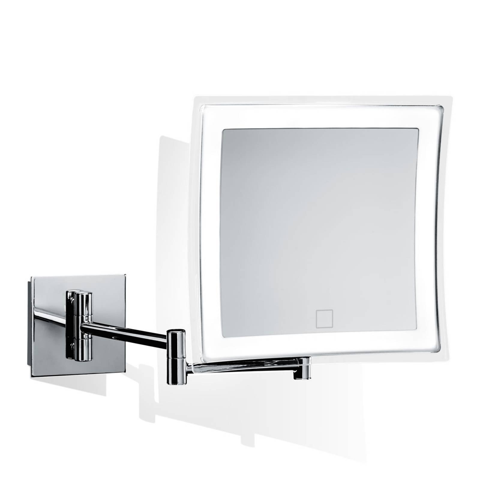 Decor Walther BS 85 Touch miroir mural LED carré