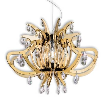 Suspension moderne et élégante Lillibet, doré