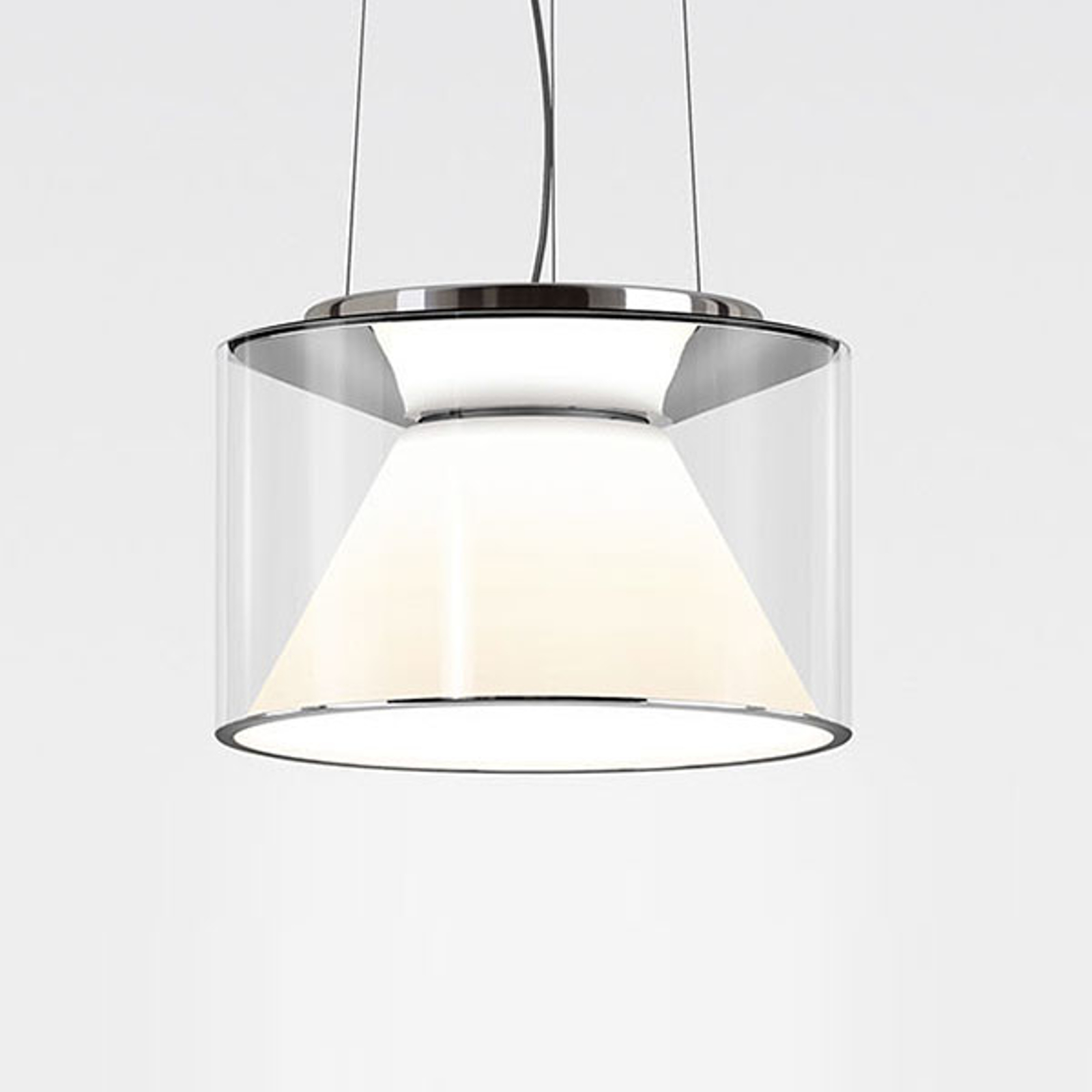 serien.lighting Drum M Pendel Seil 927 Triac flach