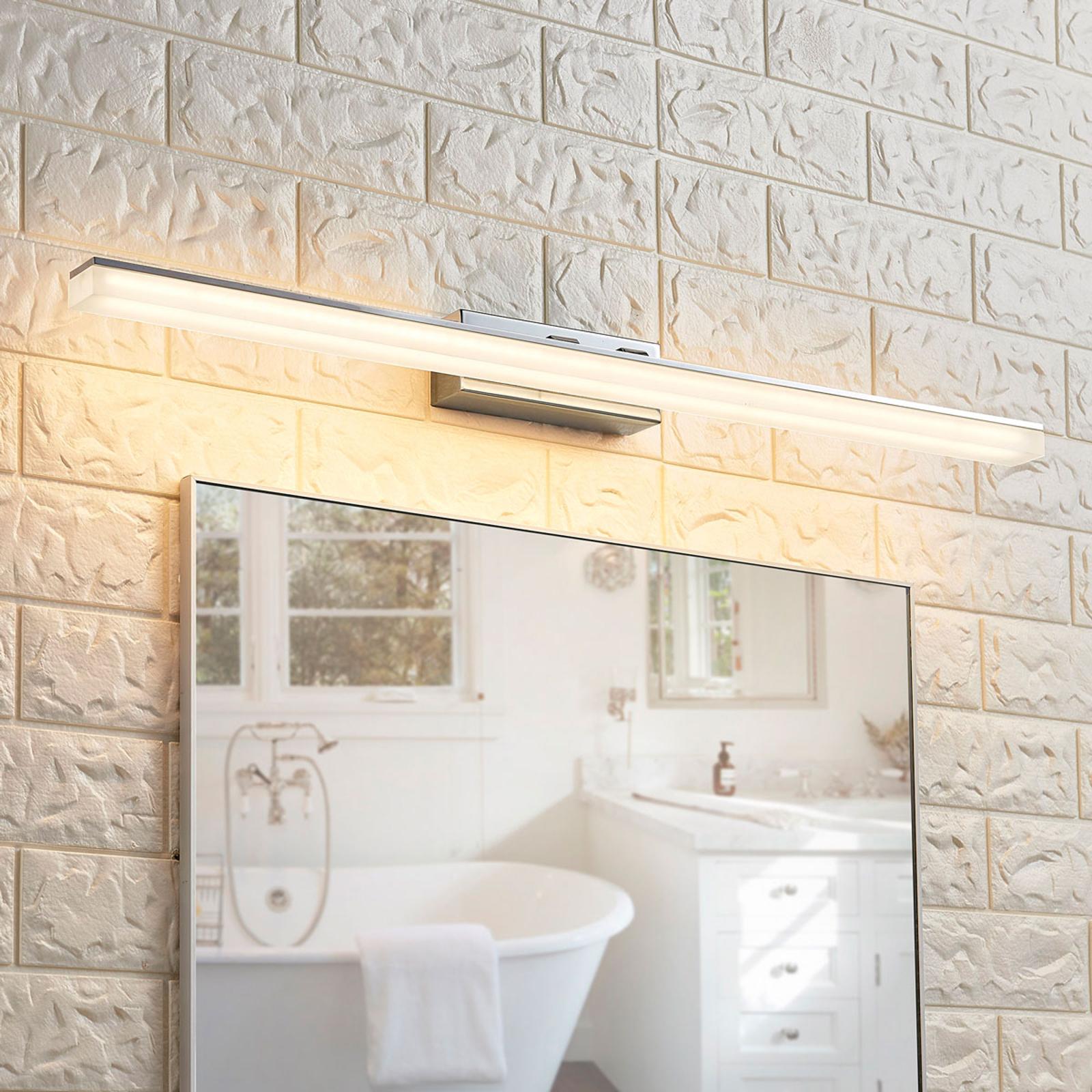 Längliche LED-Spiegelleuchte Julie, IP44