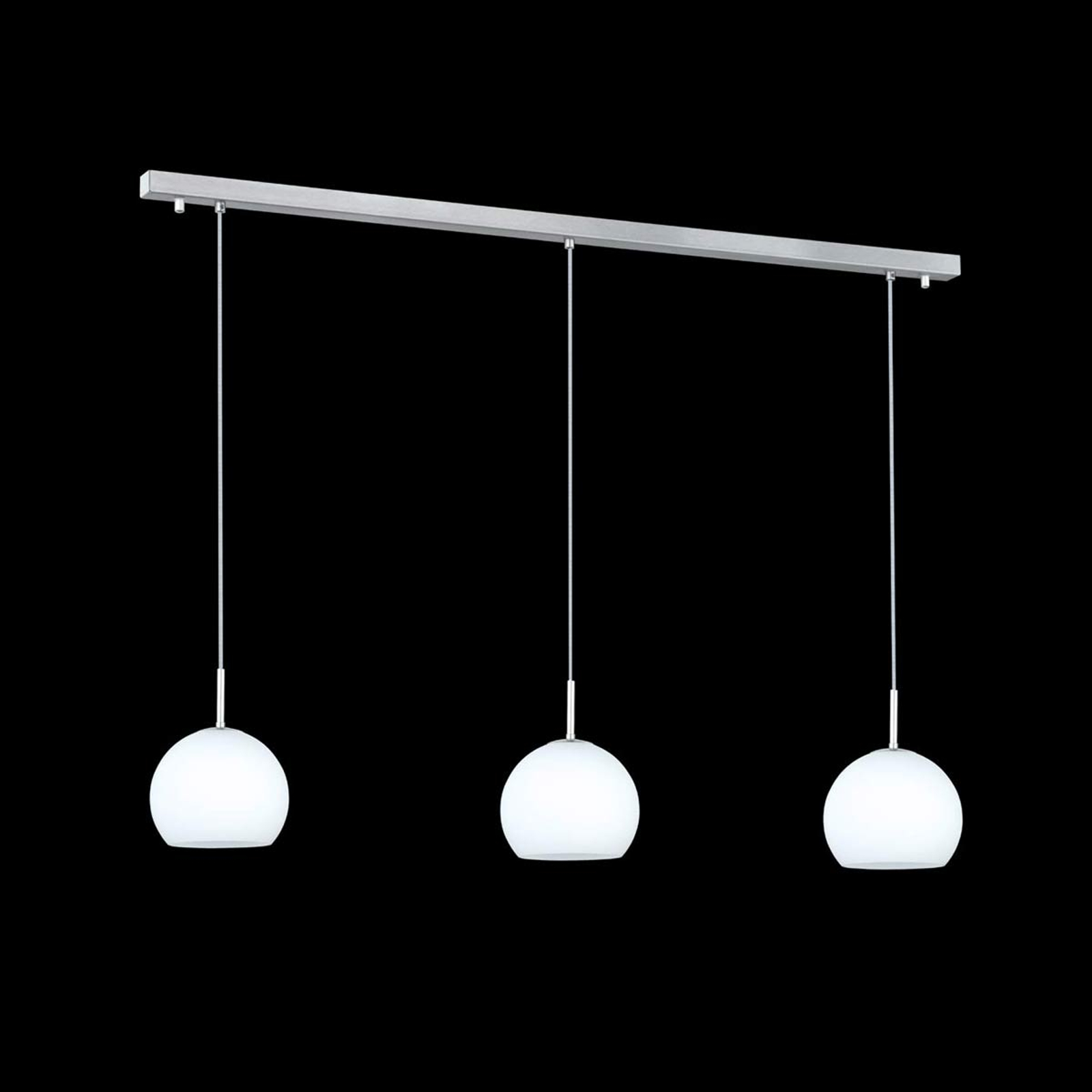 Suspension Bolero à 3 lampes, linéaire
