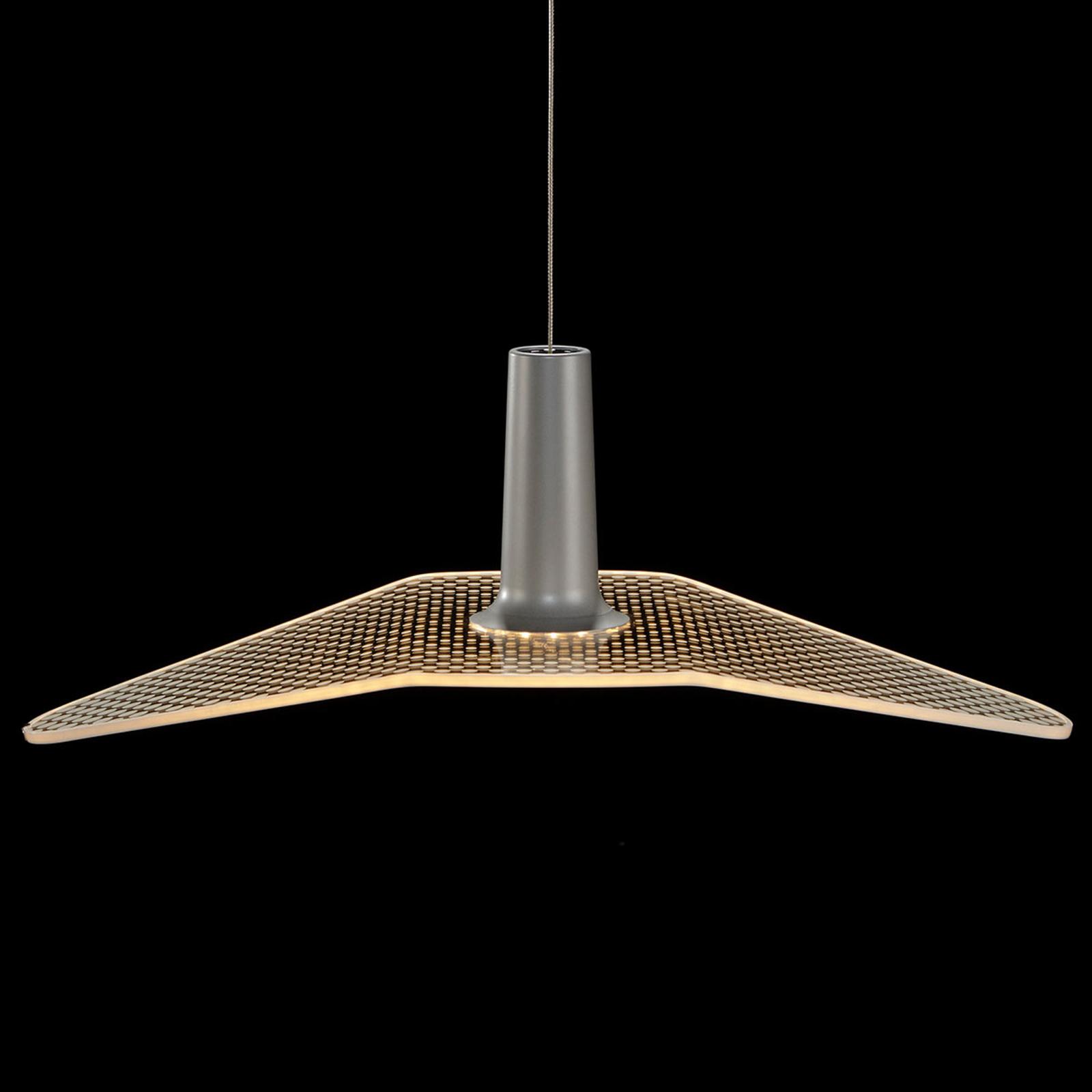 LDM Wyng Dot LED-Hängeleuchte, silbermetallic