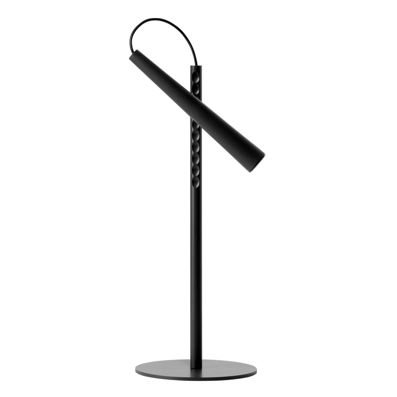 Foscarini Magneto LED-Tischleuchte, schwarz