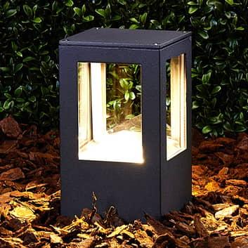 Lampione Nicola, rettangolare, a LED, IP54