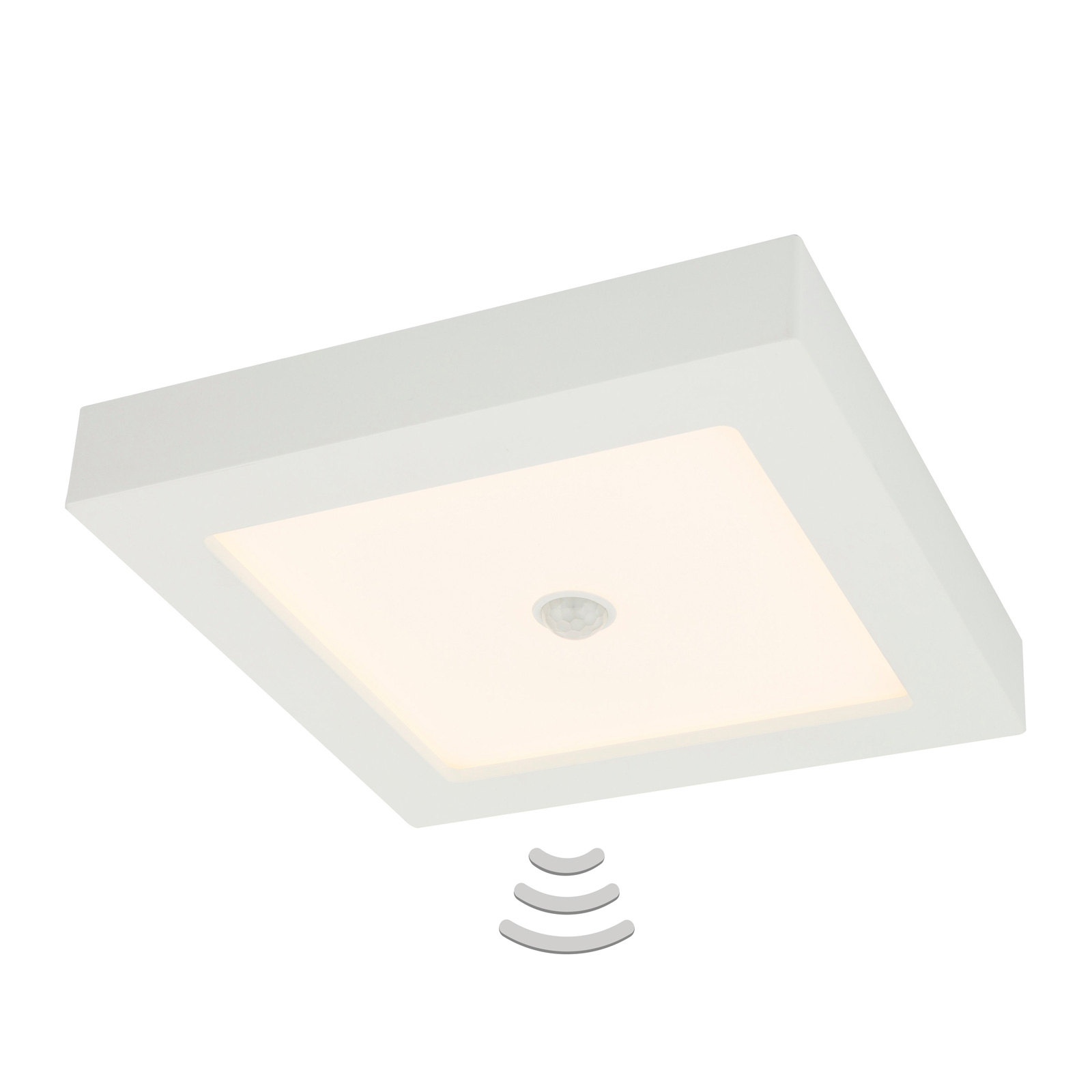 LED-taklampe Svenja 18 W med bevegelsessensor