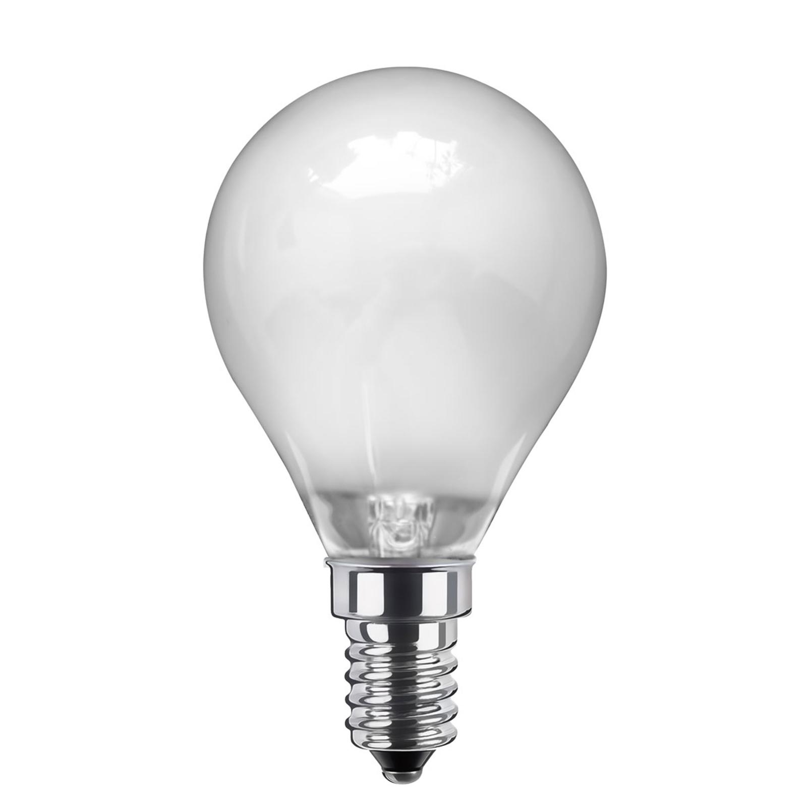 E14 3,5W 926 LED-Tropfenlampe dimmbar matt warmw.