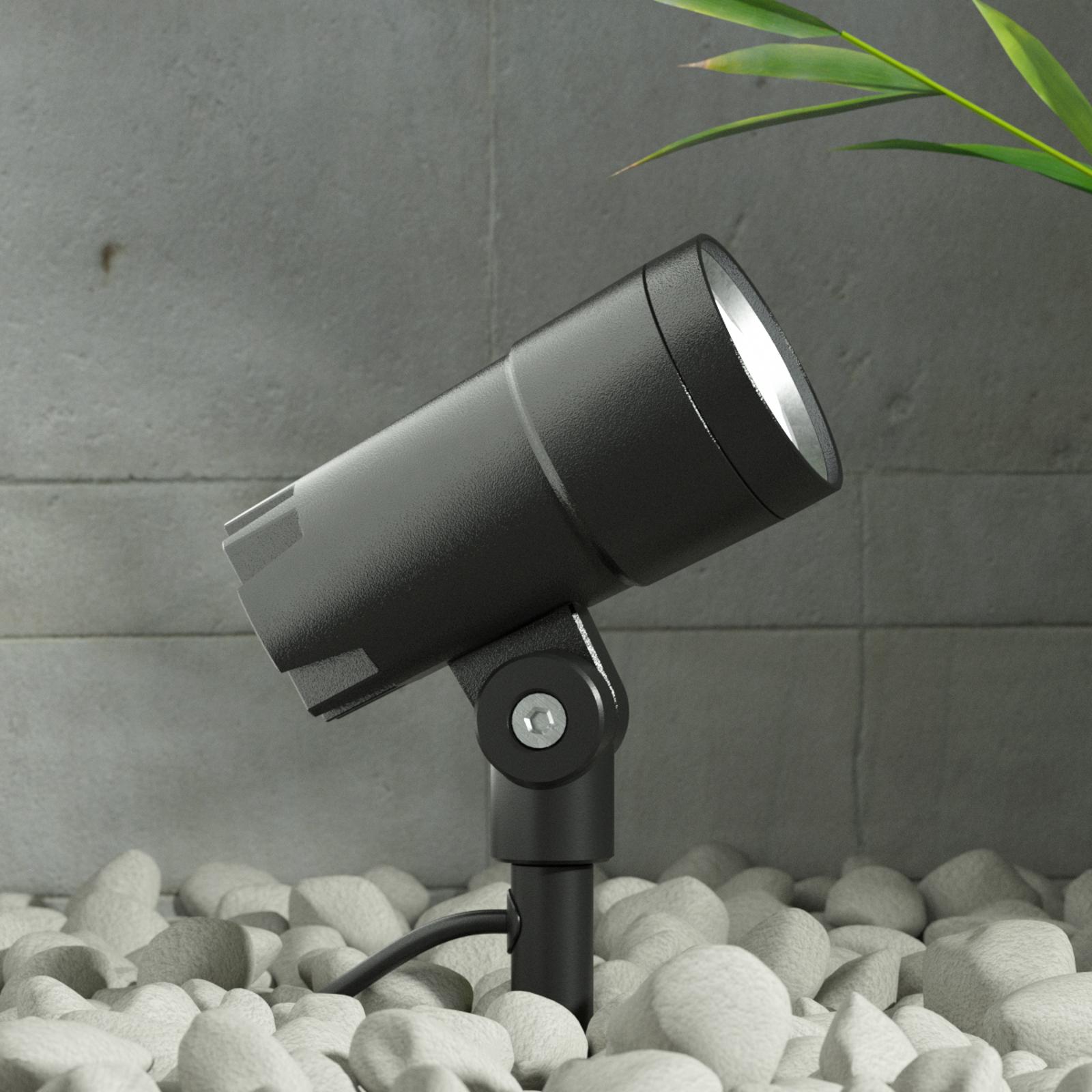 LED-buitenspot Daja, instelbare stralingshoek