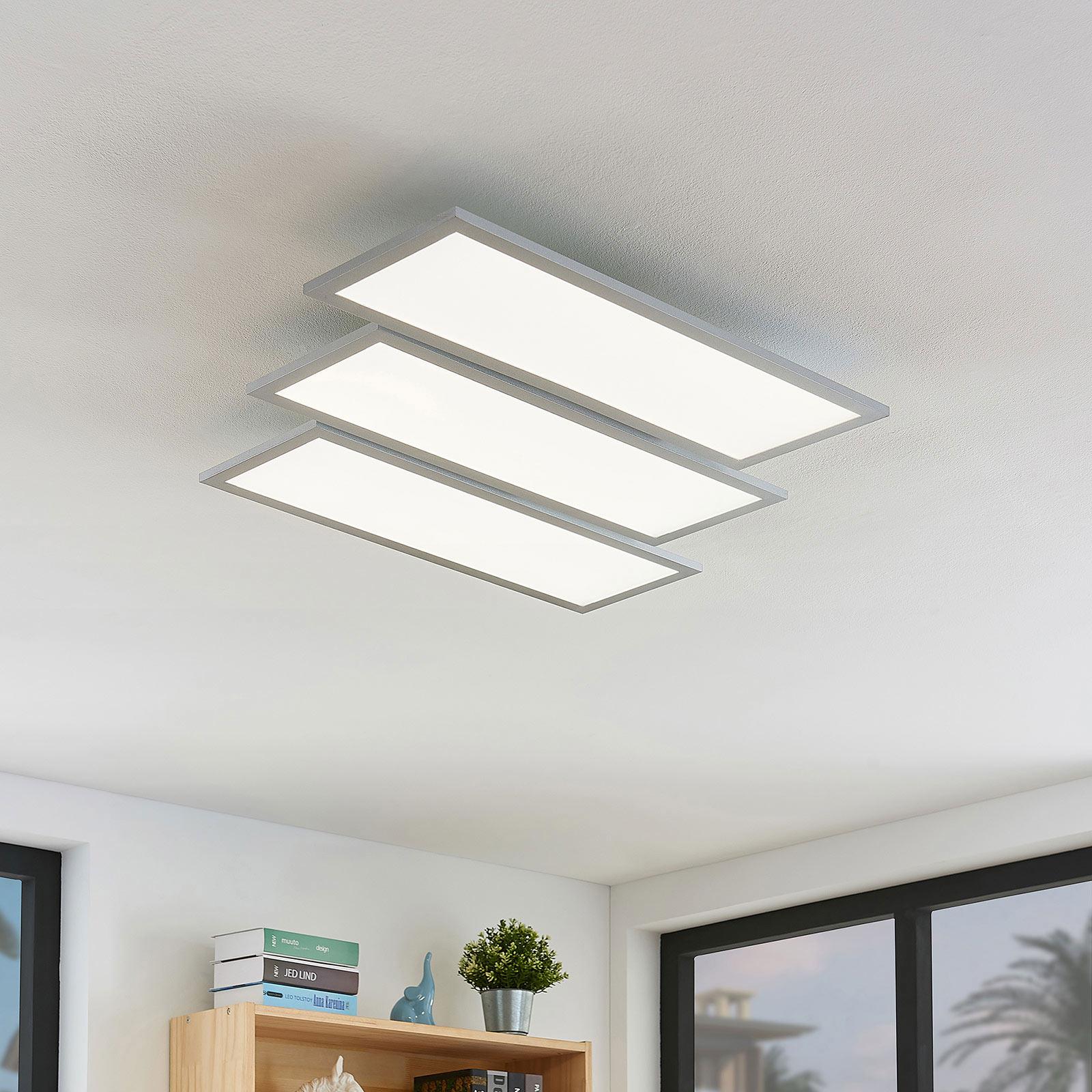 LED plafondlamp Florin, dimbaar, CCT, 3 lampjes