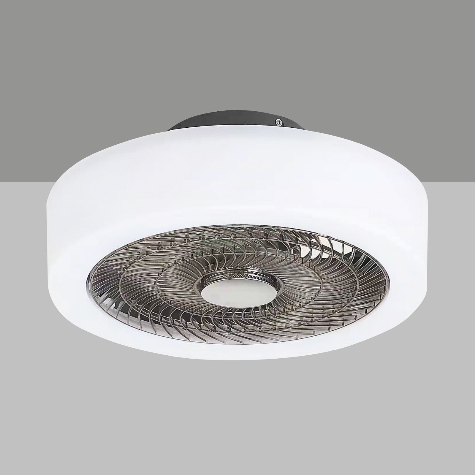 Levante LED-loftventilator med lys, der kan dæmpes