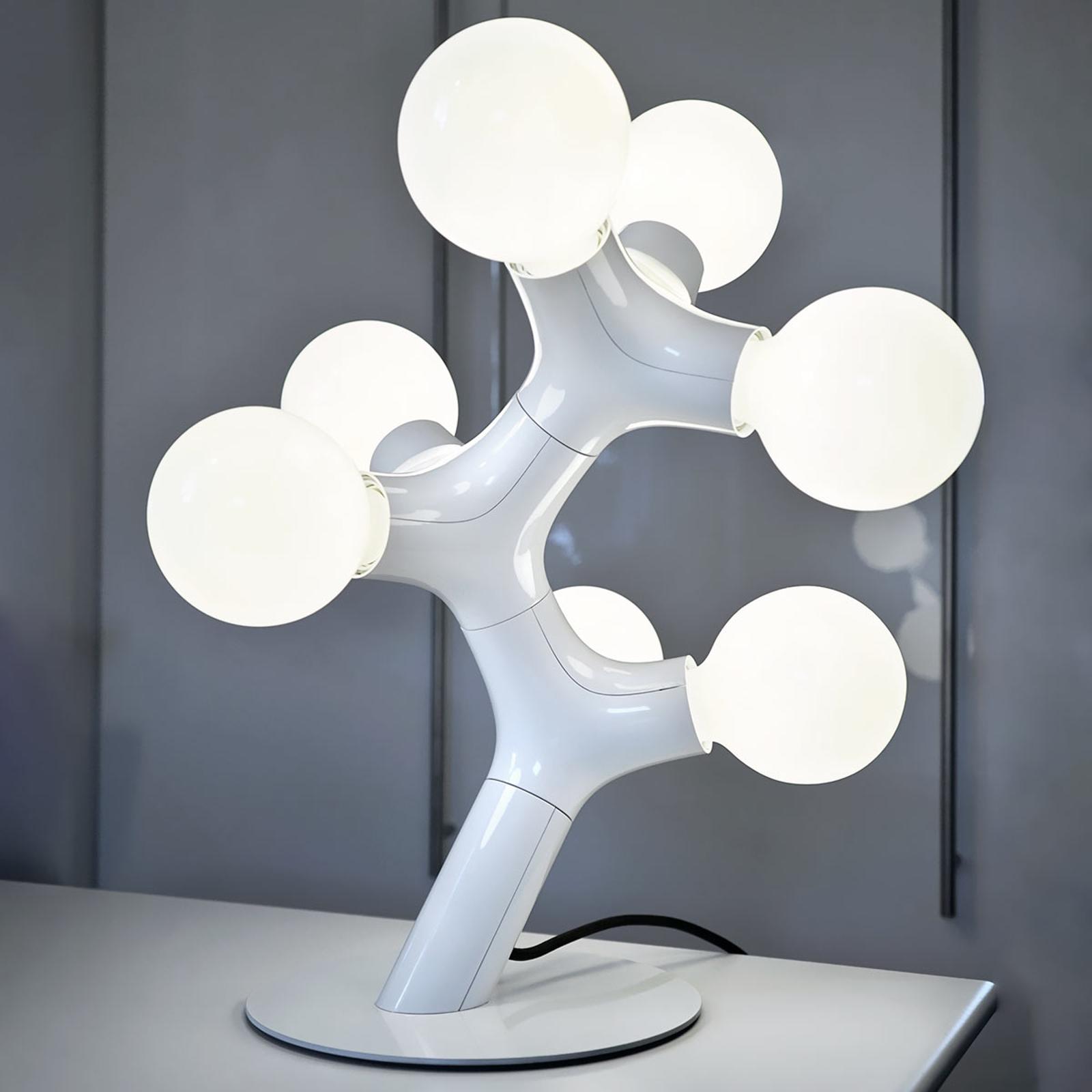 next DNA Table - Designer-Tischleuchte, weiß