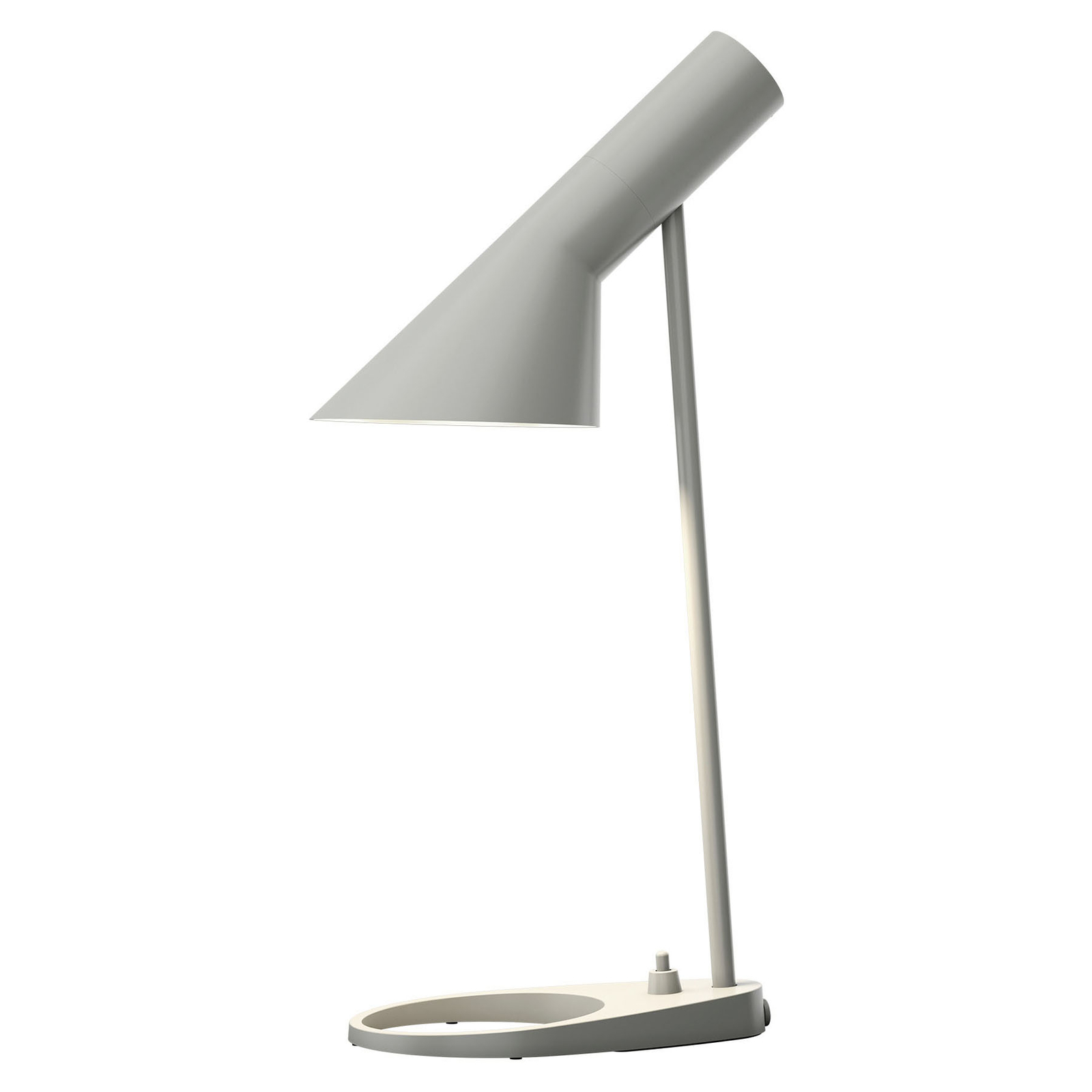 Louis Poulsen AJ Mini da tavolo, grigio originale