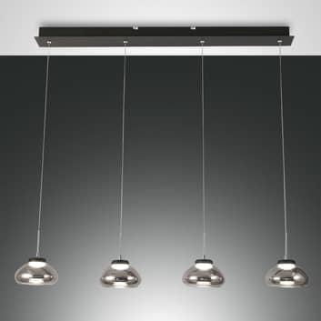 LED-riippuvalaisin Arabella 4-lamppuinen