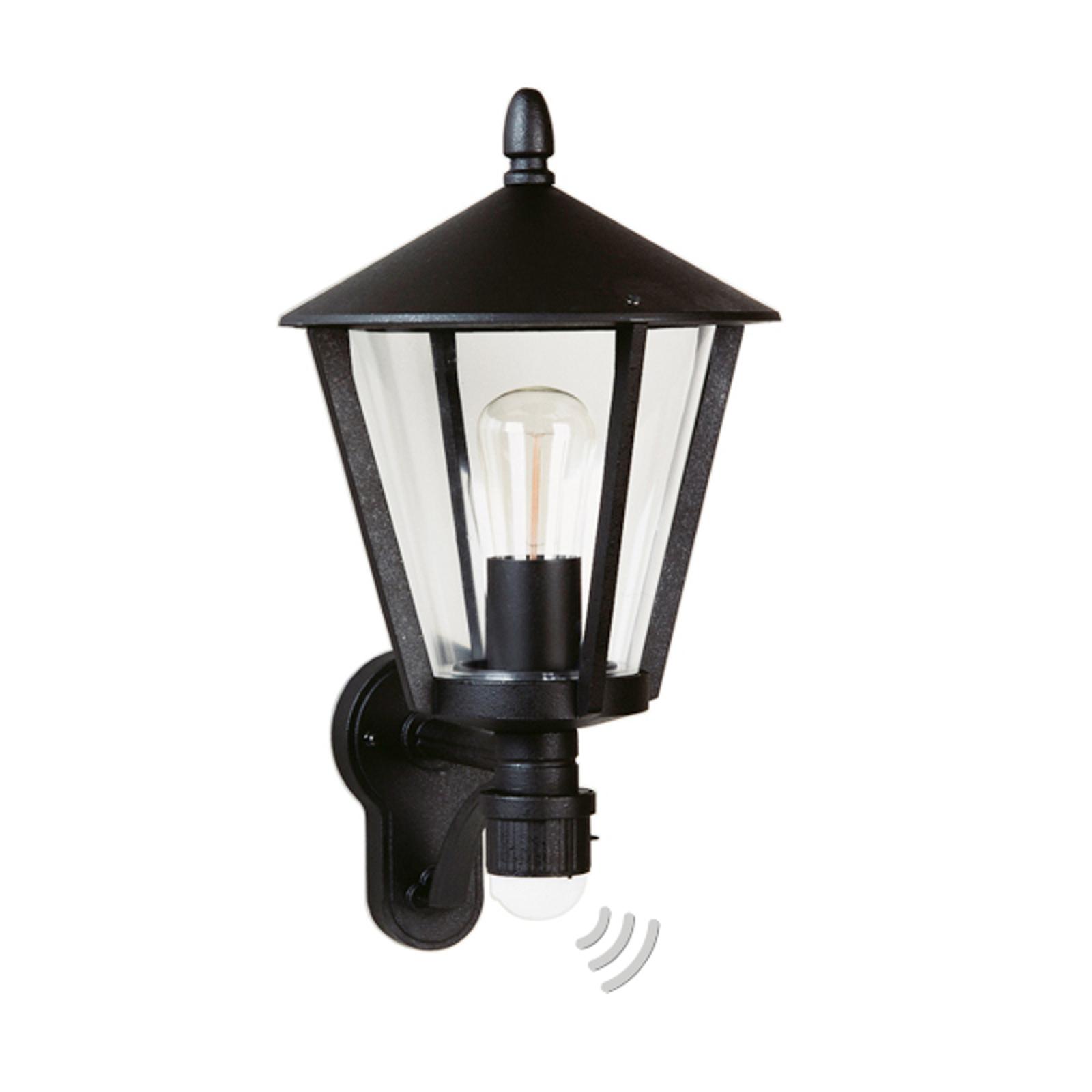 Zewnętrzna lampa ścienna 671 S z czujnikiem ruchu