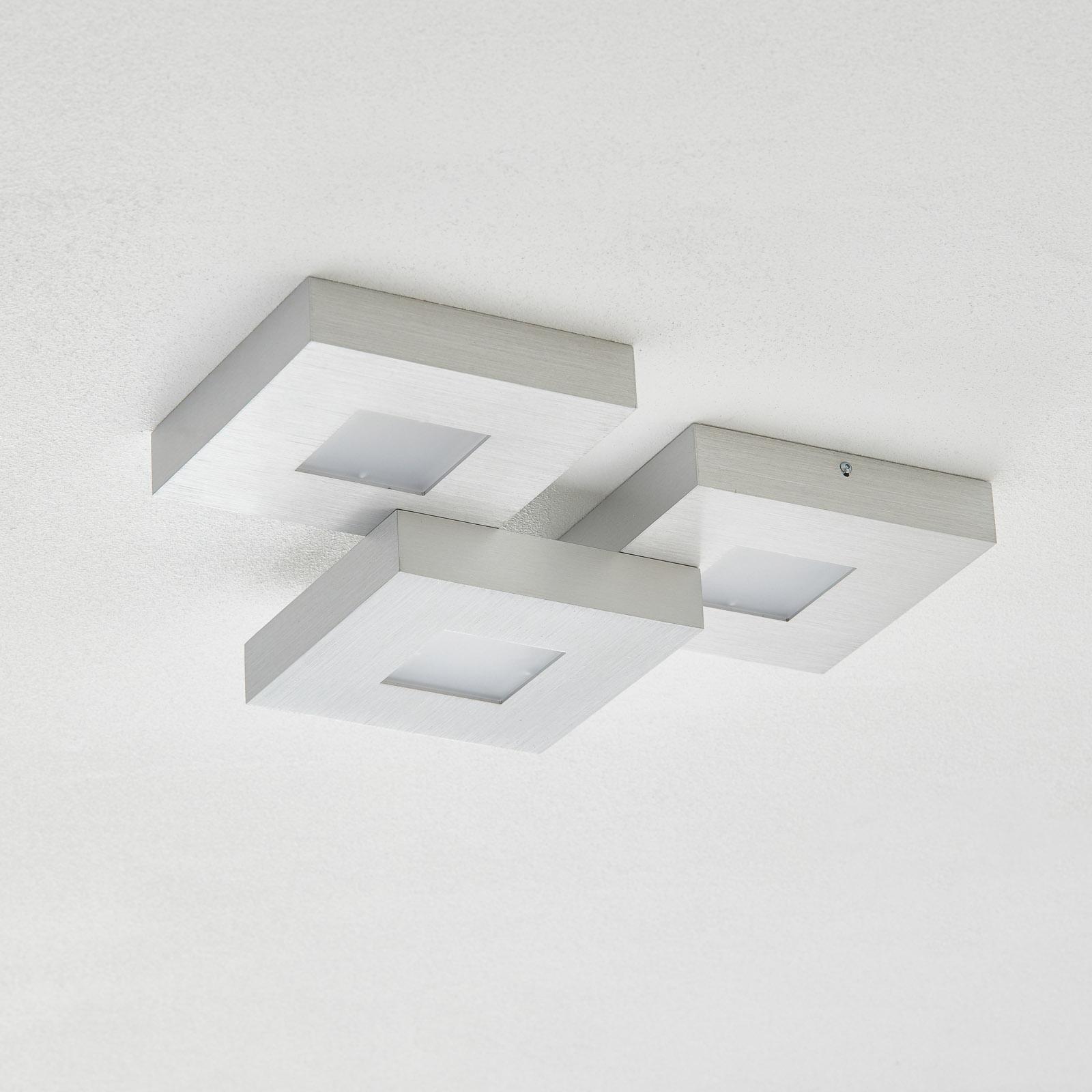 Bopp Cubus – 3-plameňové stropné LED svietidlo