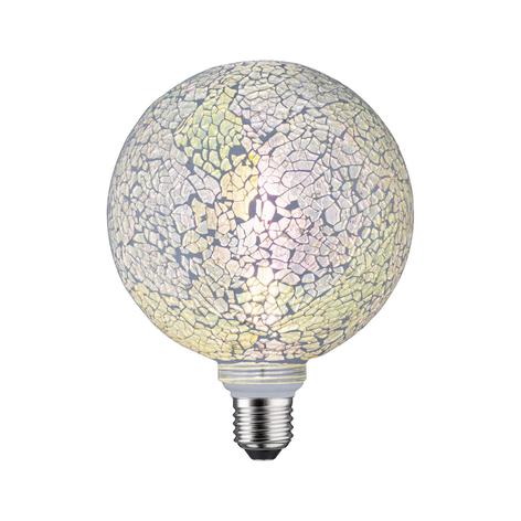 Paulmann E27 LED-Globe 5W Miracle Mosaic weiß