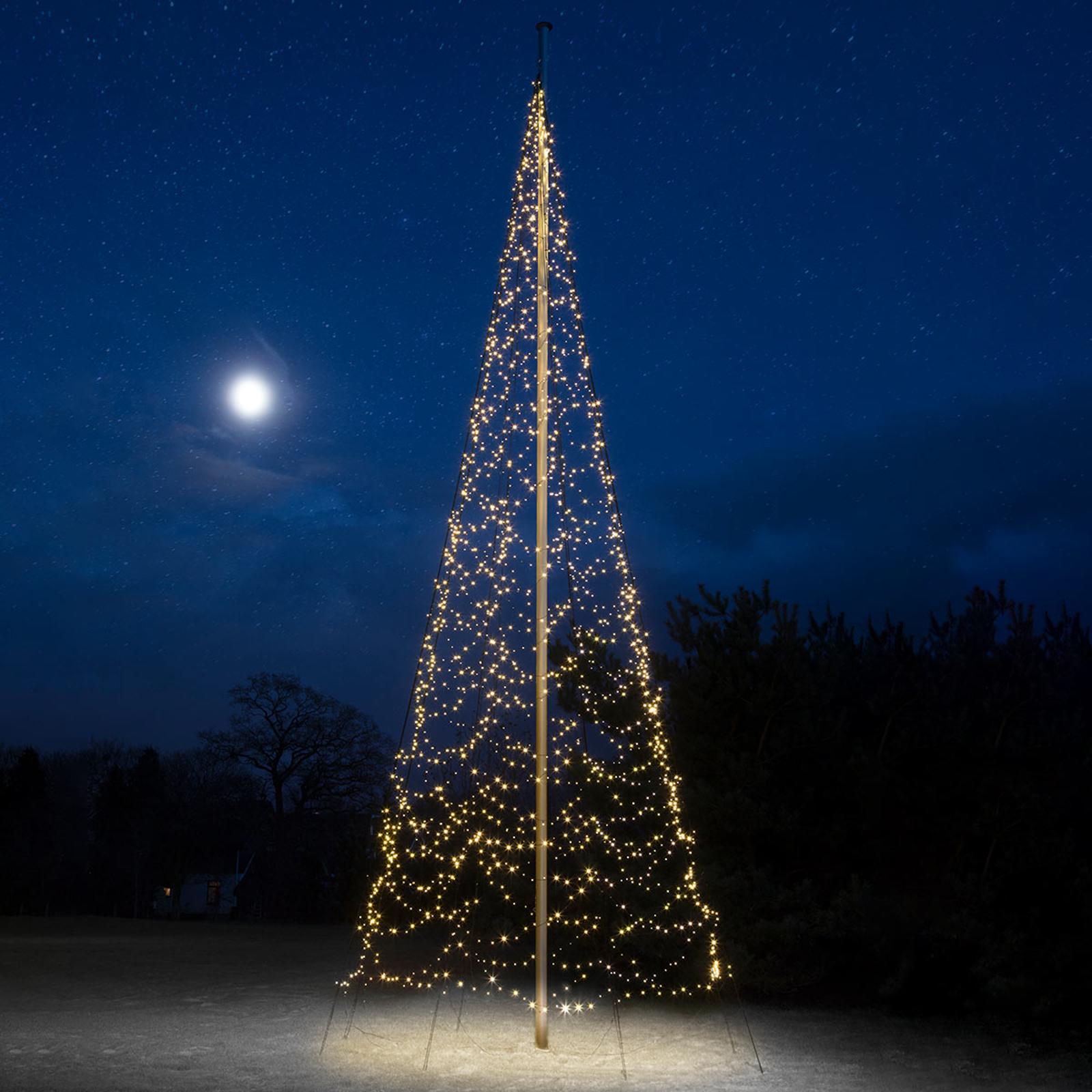 10m de haut - sapin de Noël Fairybell® 2000lampes